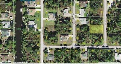 Vacant Residential Port Charlotte Land | Investment | Last Sale $7500 March 2015