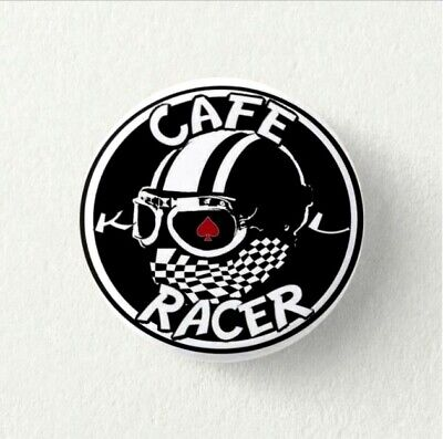 Chapa Pin Badge Button CAFE RACER MOTORCYCLES