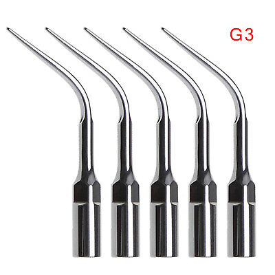 5X Dental Ultrasonic Scaler Tips Scaling Tip G3 for EMS Woodpecker Handpiece UK