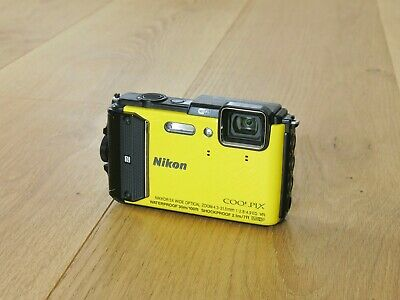 Nikon COOLPIX AW130 16.0 MP Digitalkamera - Gelb
