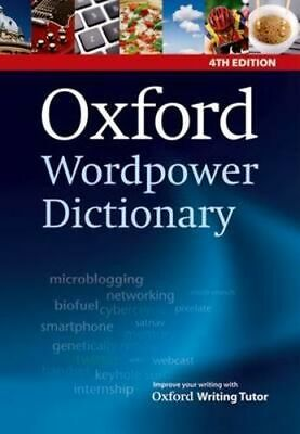 NEW Oxford Wordpower Dictionary By Oxford Editor Paperback Free Shipping