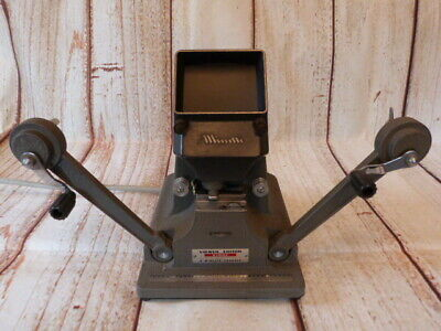 "Vintage Cast Metal ""minette"" Film Viewer Editor Eight."