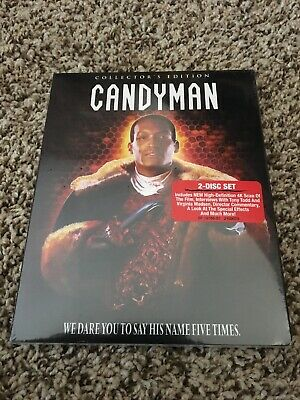 Candyman: Collector's Edition (Blu-ray, 2018) NEW Scream Factory With Slipcase