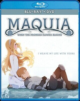 MAQUIA WHEN THE PROMISED FLOWER BLOOMS New Sealed Blu-ray + DVD