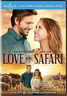 LOVE ON SAFARI New Sealed DVD A Hallmark Channel Original Movie Lacey Chabert