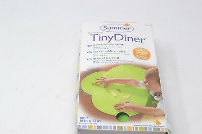 Summer Tiny Diner Mat, Green - Portable Placemat