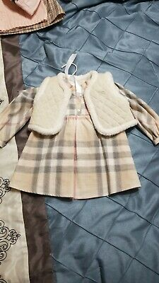 Burberry Baby Girl Dress with Vest
