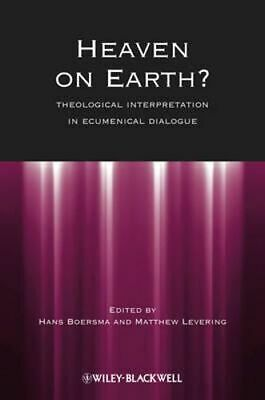NEW Heaven on Earth? By Hans Boersma Paperback Free Shipping