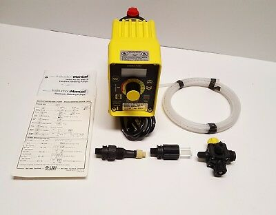 LMI Milton Roy Roytronics Chemical Metering Pump A941-353BP .58 GPH, 250 psi