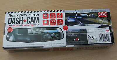 Rear View Mirror Dash Cam BNIB