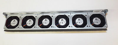 HP DL380p G8 Fan cage with 6x fans  654569-001 662518-001 & clips 2GQ32 2GQ30