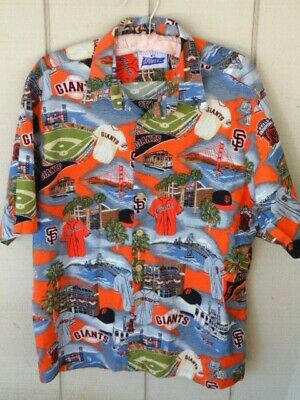 69d1748e Reyn Spooner Exclusive San Francisco SF Giants MLB Hawaiian Shirt Mens XL