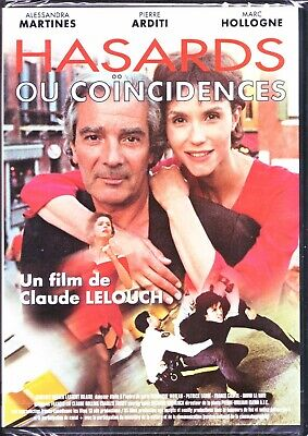 [Dvd]  Hasards Ou Coïncidences - Lelouch - Martines / Arditi - Neuf Sous Cello