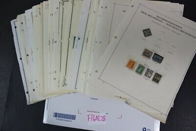 CKStamps : Incredible Mint & Used Canada Newfoundland Stamps Collection In Pages