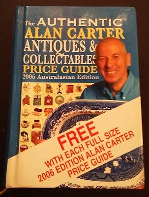 The Authentic Alan Carter Antiques & Collectables Price Guide - Australasian ed