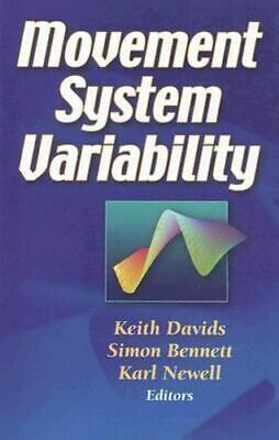 NEW Movement System Variability By Keith Davids Hardcover Free Shipping