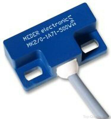 Reed Switch, MK2 Series, Panel Mount, 10 mm, SPST-NO, 10 W, 200 Vac/dc, 0.5 A