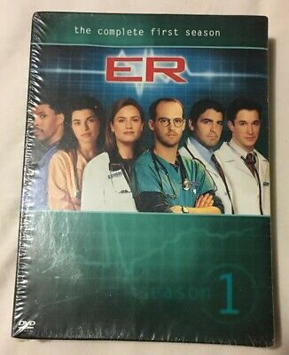 ER - The Complete First Season DVD 2011 7-Disc Set