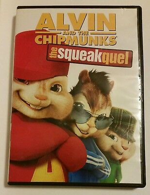 Alvin and the Chipmunks: The Squeakquel (DVD, 2010) - PG