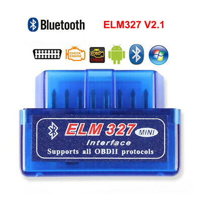 ELM327 V2.1 Android OBD2 CAN-BUS OBDII Bluetooth Car Auto Diagnostic Scanner