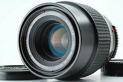 **EXC+++++** Minolta MC Macro Rokkor 100mm F/3.5 Prime Lens For Minolta MD 110