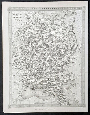 1841 Alexander Findlay Antique Map of Russia in Europe - 40119