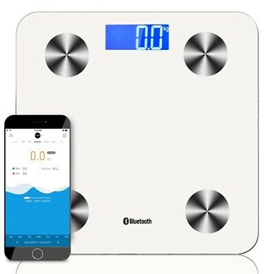 SOGA Wireless Bluetooth Digital Body Fat Scale Bathroom Health Analyser Weight