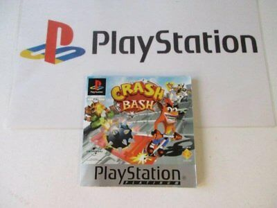 playstation 1 manual: CRASH BASH -platinum-