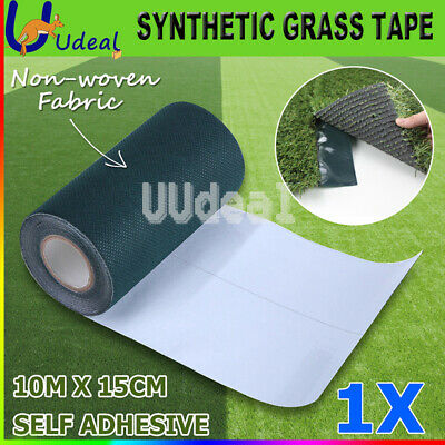 1X10M Turf Artificial Grass Joining Tape Self Adhesive Synthetic Glue Peel