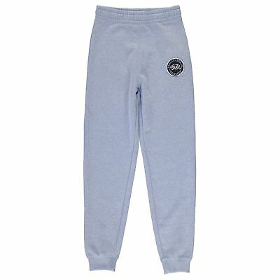 SoulCal Signature Jogging Bottoms Girls Pale Blue Marl 11-12 Years TD181 CC 14