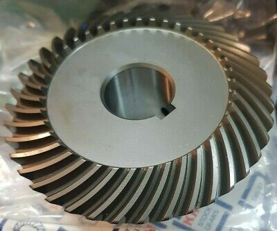 KHK MBSA2-4020R, Module 2, 40 Tooth, Right Hand, Finished Bore Spiral Bevel Gear