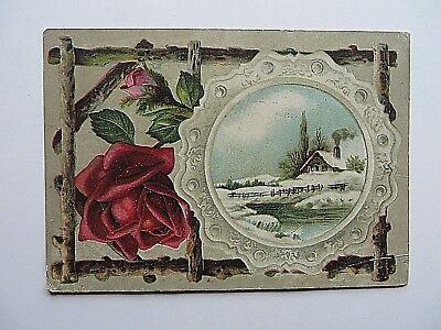 Vintage Early 1900s Malena Company Advertising Trade Card Quack Medicine #9270