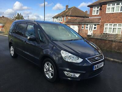 2013 (63) Ford Galaxy Zetec Tdci + Automatic + Grey + 7 Seater + Spares & Repair