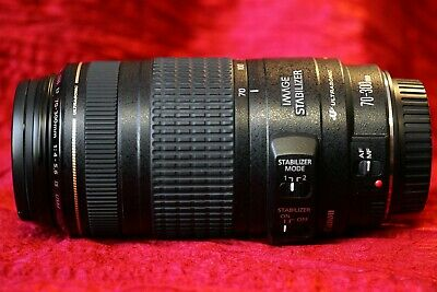 Canon EF 70-300mm f4-5.6 IS USM Auto Focus Zoom Lens