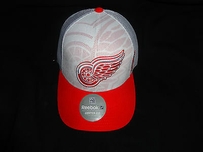 1ccf6e4b DETROIT RED WINGS Reebok 2015 Official NHL Draft Cap Stretch Fit ...