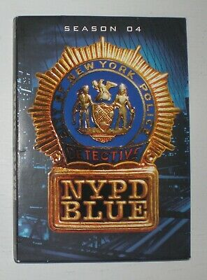 NYPD Blue: The Complete Fourth Season 4 / Four with Dennis Franz - dvd set