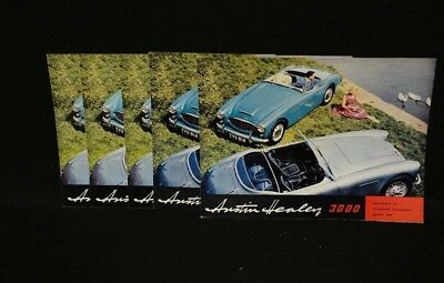Austin-Healey 3000 Sales Brochure