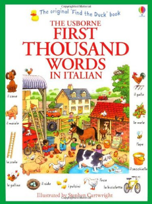 Amery, Heather-First Thousand Words In Italian BOOK NEW