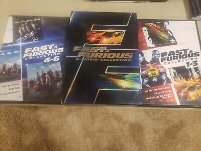 Fast  Furious: 6 Movie Collection (DVD, 2014, 6-Disc Set)