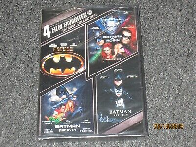 4 Film Favorites: Batman (DVD, 2009, 2-Disc Set) Brand New and Free Shipping USA
