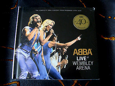 CD Double: ABBA : Live At Wembley Arena 1979 : 2 CDs Sealed