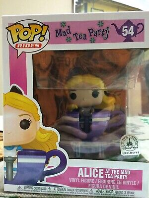 Disney Parks Exclusive Alice at the Mad Tea Party Funko Pop Rides. New with Box.