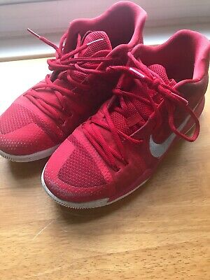 77c0b0bc8a6b NIKE KYRIE 3 GS UNIVERSITY RED WHITE YELLOW 859466 601 US YOUTH SZ 6.5 Eur  39