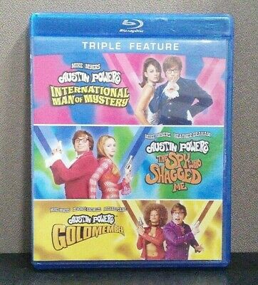 Austin Powers: International Man of Mystery/Spy Who Shagged Me/Goldmember DVD LN