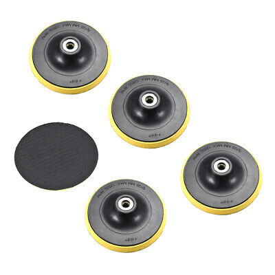 "Polishing Disc Suction Cup Self-Adhesive Sticky Disk Sandpaper Sucker 5"" 5pcs"
