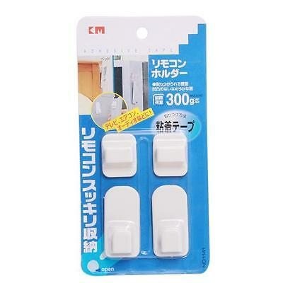 2Pcs Wall Door Self Adhesive Remote Control Sticker Durable Holder Hooks DB