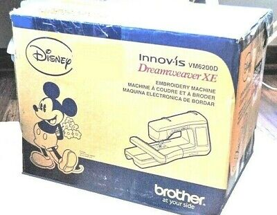 Brother Innov'is DreamWeaver XE VM6200D Embroidery & Sewing Machine NEW IN BOX!