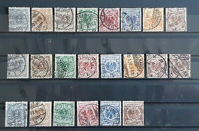 German Reich collection from 1889 CANC !