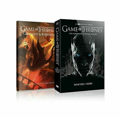 Game of Thrones: The Complete Seventh Season 7(DVD, 2017, 5-Disc Set) Sealed