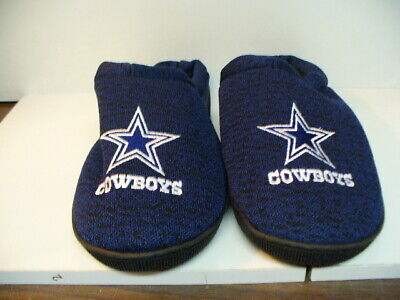 0d047f950fd NFL POLY KNIT Cup Sole Slide Slippers Dallas Cowboys NEW -  19.99 ...